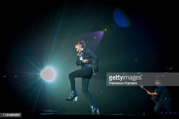 Alessandra Amoroso performs at Mediolanum Forum on March 10 2019 in Milan Italy
