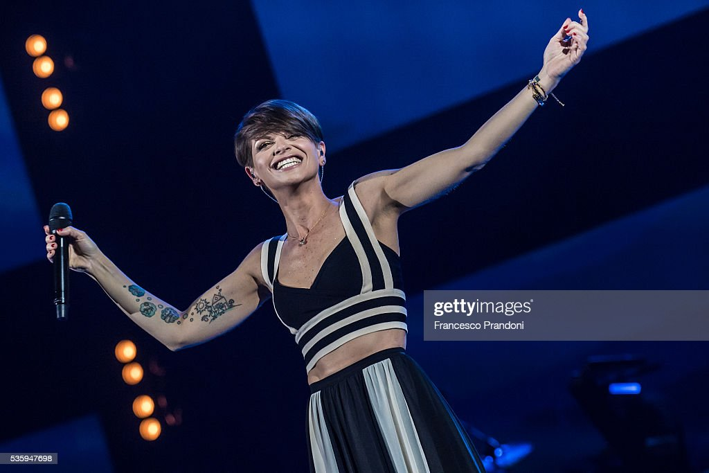 Alessandra Amoroso Performs In Milan