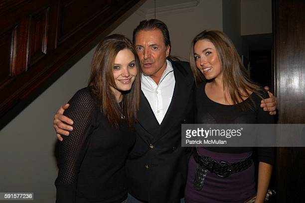 Alessandra Assante Armand Assante and Anya Assante attend Janna Bullock's Holiday Musicale at The Home of Janna Bullock on December 13 2005 in New...