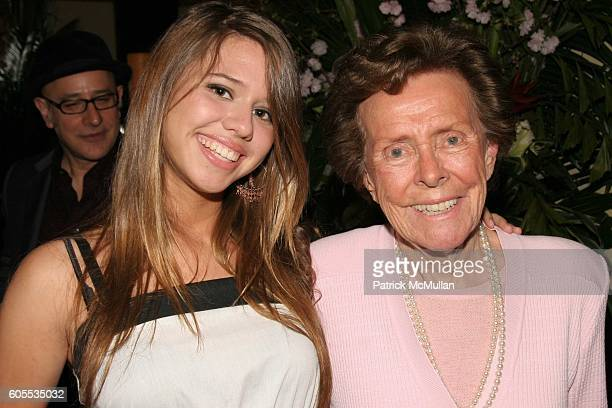 Alessandra Balazs and Eileen Ford attend Paper Magazine Luncheon to Honor Carine Roitfeld and Julia Restoin Roitfeld at Indochine on May 19 2006 in...