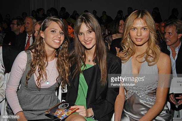 Alessandra Balazs Camilla Finn and attend WESTFIELD and NEXXUS SALON HAIR CARE Host the Ford Supermodel of the World 2006/2007 at Skylight Studios on...