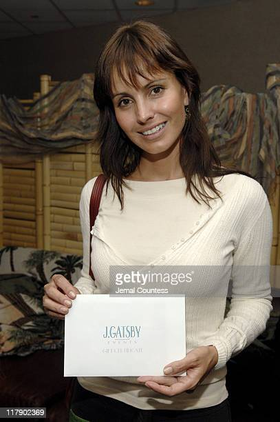 Alessandra Barros at the J Gatsby Events Gift Station