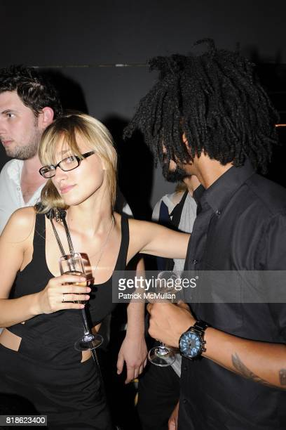 Alessandra Brawn and Jah Landis attend Le Bain Opening at The Standard New York on June 23 2010