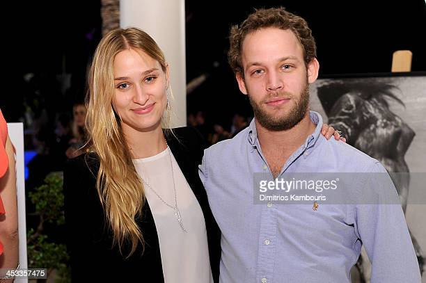 Alessandra Brawn and restaurateur John Neidich attend the Best Buddies Art Friendship Auction at a private residence on December 3 2013 in Miami...