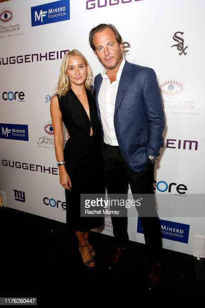 Alessandra Brawn and Will Arnett attend Brent Shapiro Foundation Summer Spectacular 2019 at The Beverly Hilton Hotel on September 21, 2019 in Beverly...
