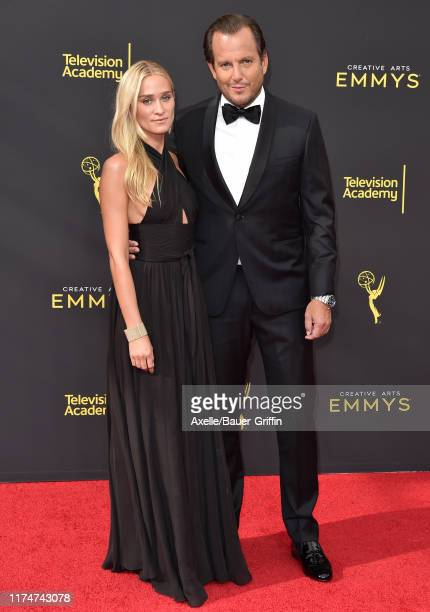 Alessandra Brawn and Will Arnett attend the 2019 Creative Arts Emmy Awards on September 14, 2019 in Los Angeles, California.