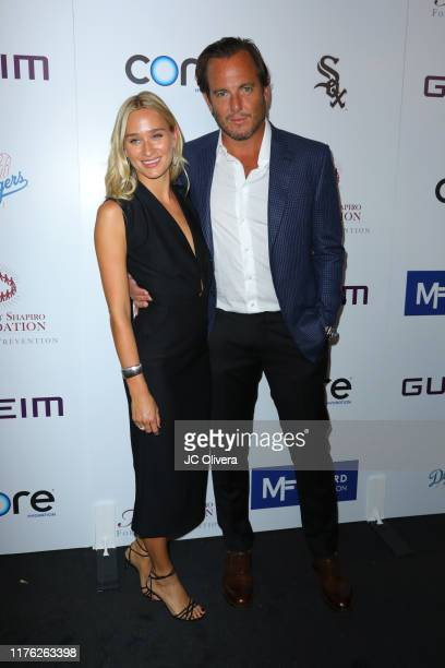 Alessandra Brawn and Will Arnett attend The Brent Shapiro Foundation for Drug Prevention Summer Spectacular Gala at The Beverly Hilton Hotel on...