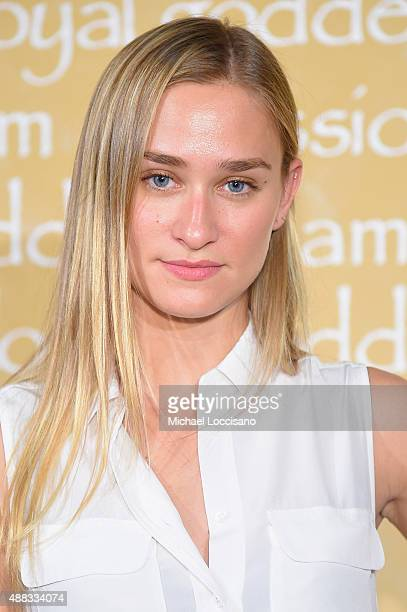 Alessandra Brawn attends Alice + Olivia By Stacey Bendet Spring 2016 during New York Fashion Week: The Shows at The Gallery, Skylight at Clarkson Sq...