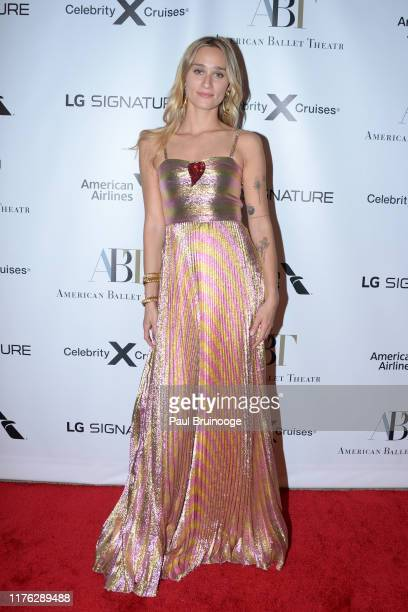 Alessandra Brawn attends American Ballet Theatre 2019 Fall Gala on October 16, 2019 at David H. Koch Theater, Lincoln Center in New York City.