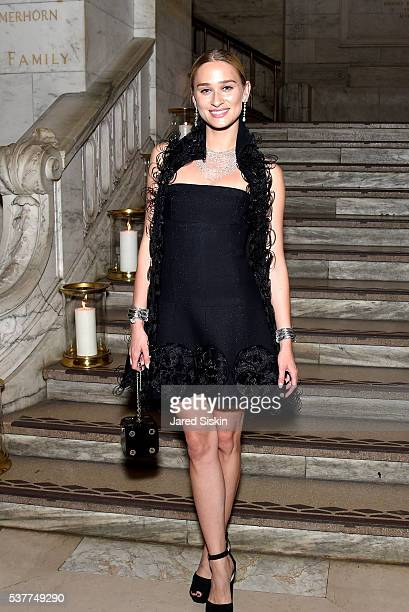 Alessandra Brawn attends as CHANEL Fine Jewelry Celebrates The New York Public Library Treasures Collection at The New York Public Library on June 2...