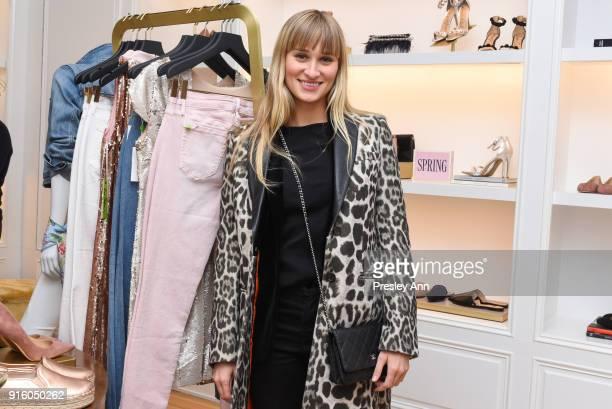 Alessandra Brawn attends Sam Edelman NYFW: Fashion & Philanthropy on February 8, 2018 in New York City.