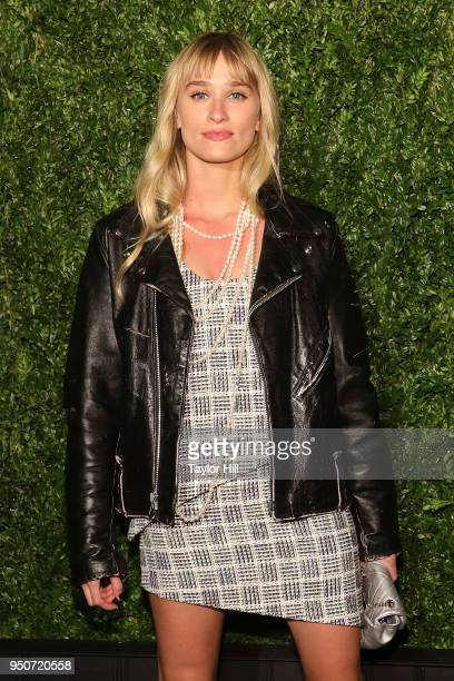 Alessandra Brawn attends the 13th Annual Tribeca Film Festival CHANEL Dinner at Balthazar on April 23 2018 in New York City