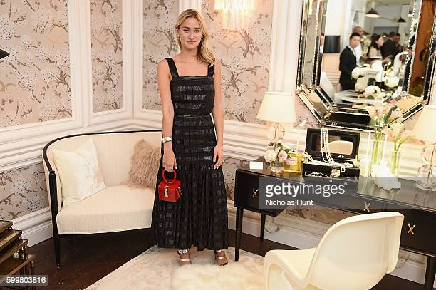 Alessandra Brawn attends the CHANEL Fine Jewelry Dinner in honor of Keira Knightley at The Jewel Box Bergdorf Goodman on September 6 2016 in New York...