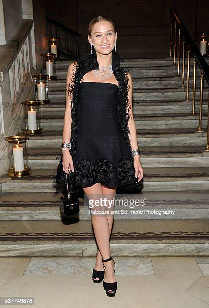 Alessandra Brawn attends the CHANEL Fine Jewelry Dinner supporting treasures from the New York Public Library Collection at the New York Public...