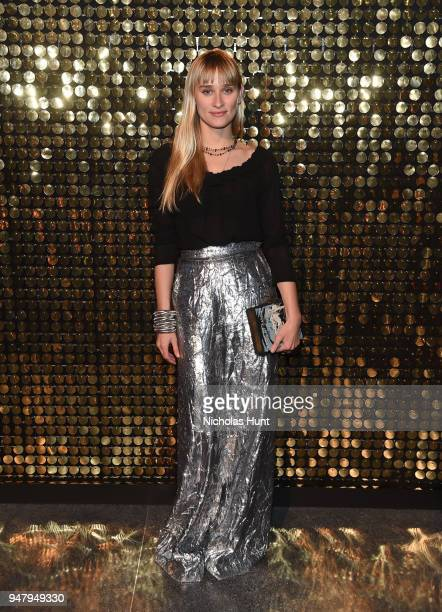 Alessandra Brawn Neidich attends the Eighth Annual Brooklyn Artists Ball at The Brooklyn Museum on April 17 2018 in New York City
