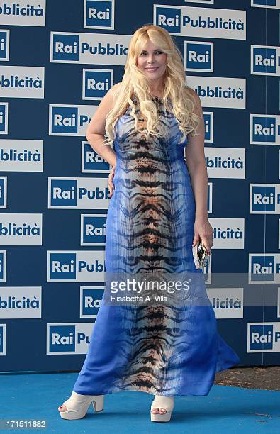 Alessandra Canale attends RAI Television 2013 / 2014 Programming Presentation at RAI Dear Studios on June 25 2013 in Rome Italy