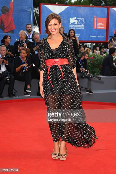 Alessandra Carrillo attends the premiere of 'Jackie' during the 73rd Venice Film Festival at Sala Grande on September 7 2016 in Venice Italy