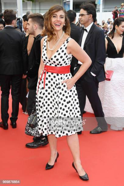 Alessandra Carrillo attends the screening of The Wild Pear Tree during the 71st annual Cannes Film Festival at Palais des Festivals on May 18 2018 in...