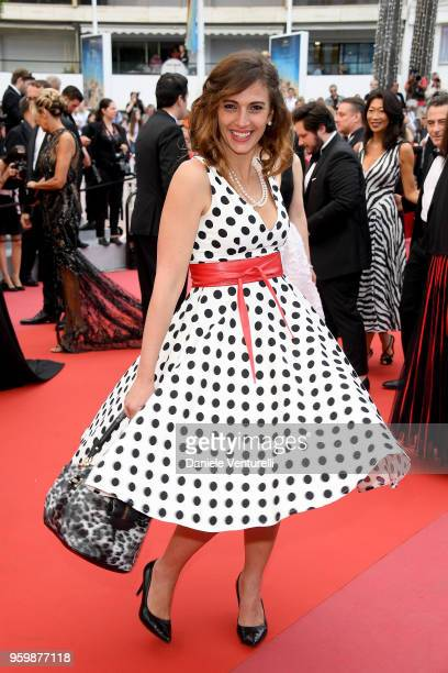 Alessandra Carrillo attends the screening of 'The Wild Pear Tree ' during the 71st annual Cannes Film Festival at Palais des Festivals on May 18 2018...
