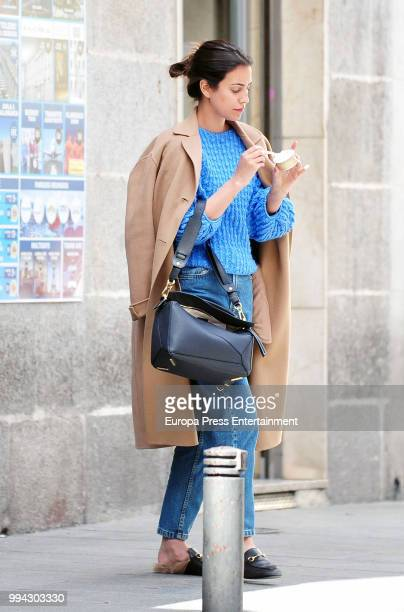 Alessandra de Osma also known as Sassa de Osma is seen on June 11 2018 in Madrid Spain