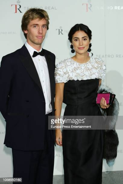 Alessandra de Osma and Christian de Hannover attend the 'The Nutcracker' during the Royal Theatre Annual Gala on November 6 2018 in Madrid Spain
