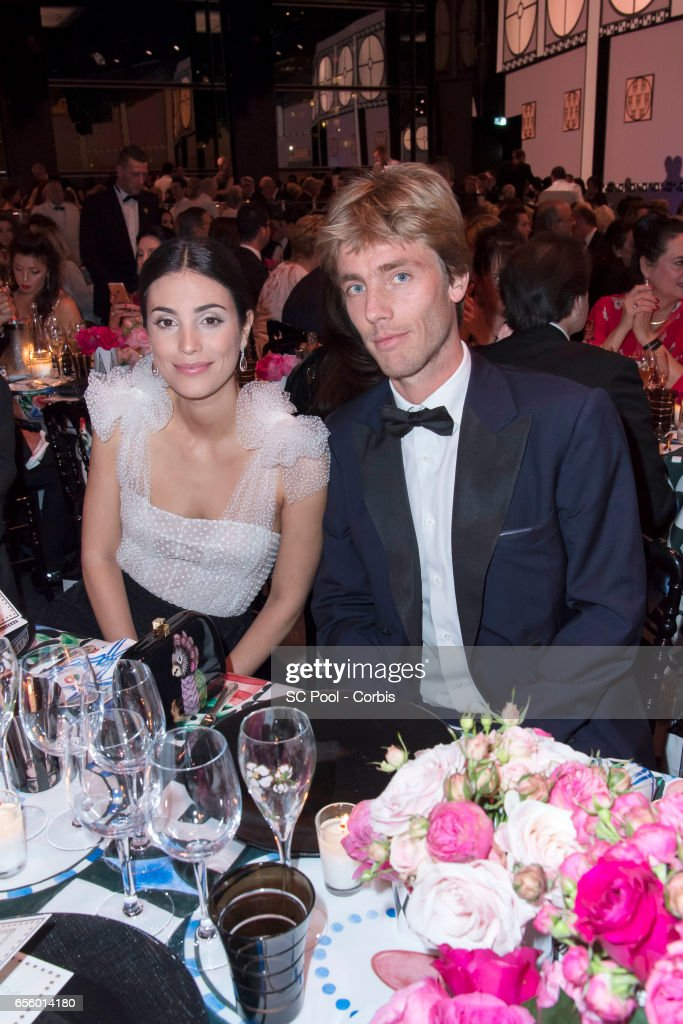 Alessandra de Osma and Prince Christian of Hanover attend the Rose Ball 2017 Secession Viennoise To Benefit The Princess Grace Foundation at Sporting Monte-Carlo on March 18, 2017 in Monte-Carlo, Monaco.