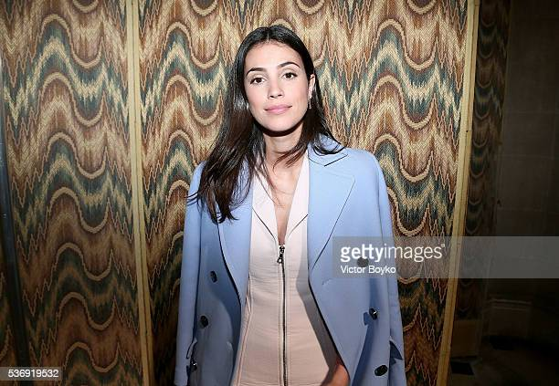Alessandra De Osma attends the Dior Cruise Collection show 2017 at Blenheim Palace on May 31 2016 in Woodstock England