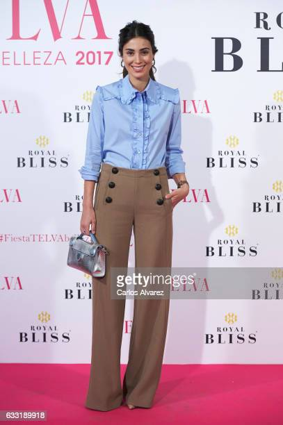 Alessandra de Osma attends the 'Telva Beauty' awards 2016 at the Palace Hotel on January 31 2017 in Madrid Spain