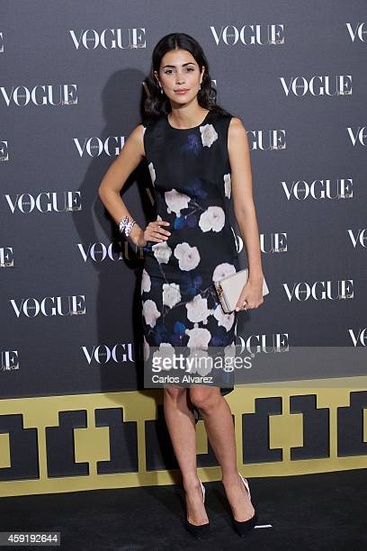 Alessandra de Osma attends the 'Vogue Joyas' 2013 awards at the Stock Exchange building on November 18 2014 in Madrid Spain