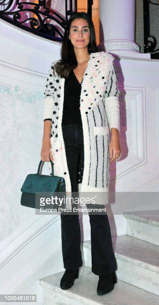 Alessandra de Osma during Charlotte Tilbury's Party on October 29 2018 in Madrid Spain