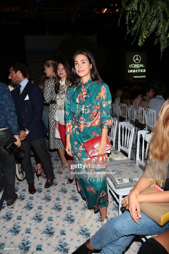 Celebrities - Day 4 - Mercedes-Benz Fashion Week Madrid Spring/Summer 2018 : News Photo