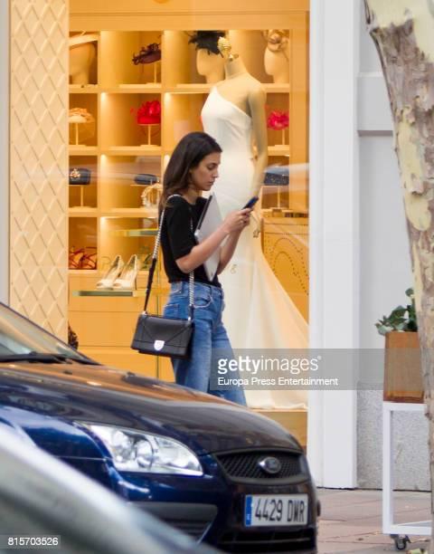 Alessandra de Osma is seen on June 27 2017 in Madrid Spain