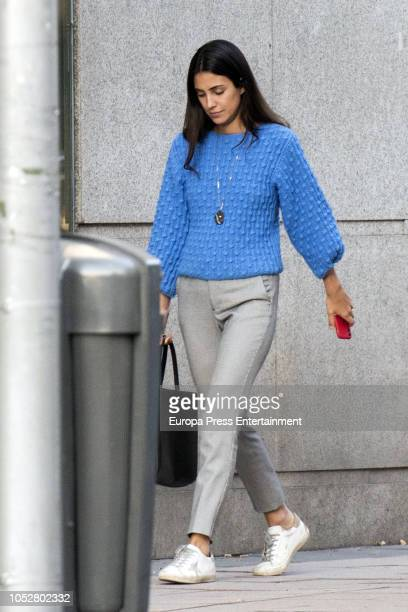 Alessandra de Osma is seen on October 22 2018 in Madrid Spain