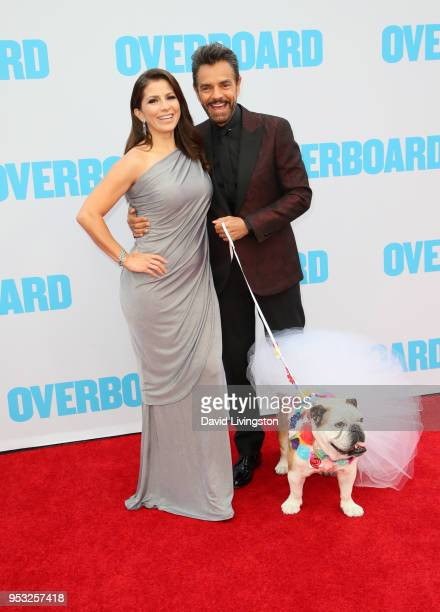 Alessandra Derbez Eugenio Derbez and Fiona attend the premiere of Lionsgate and Pantelion Film's Overboard at Regency Village Theatre on April 30...