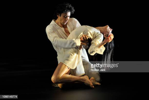 Alessandra Ferri and Herman Cornejo in Angelin Prelijocaj's LeParc at The Royal Opera House on January 16 2019 in London England