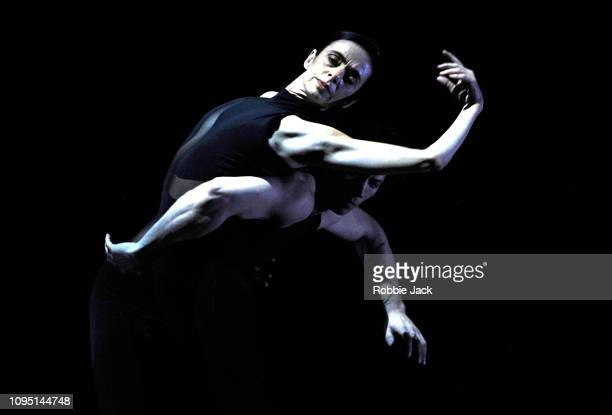 Alessandra Ferri and Herman Cornejo in Russell Maliphant's Entwine at The Royal Opera House on January 16 2019 in London England