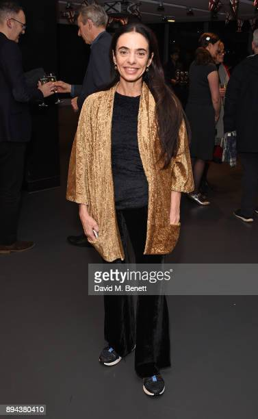 Alessandra Ferri attends the evening Gala Performance of 'Matthew Bourne's Cinderella' at Sadler's Wells Theatre on December 17 2017 in London England