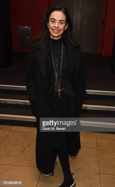 Alessandra Ferri attends the press night performance of 'Swan Lake' at Sadlers Wells Theatre on December 9 2018 in London England