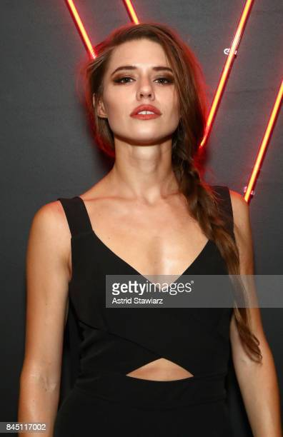 Alessandra Ford Balazs attends a night at the Maybelline Mansion presented by V on September 9 2017 in New York City