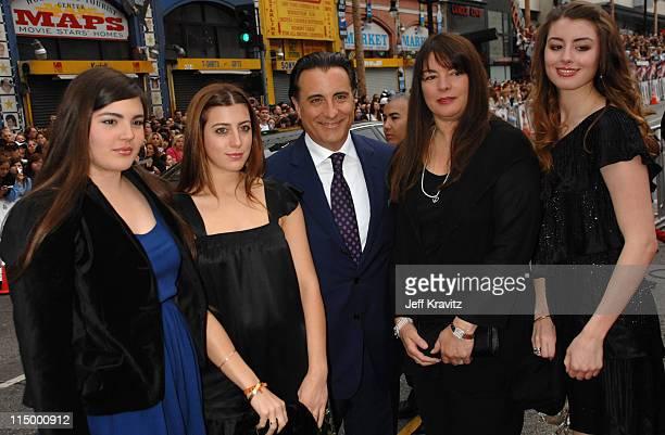 Alessandra Garcia Dominik Garcia Andy Garcia Marivi Lorido Garcia and Daniella Garcia