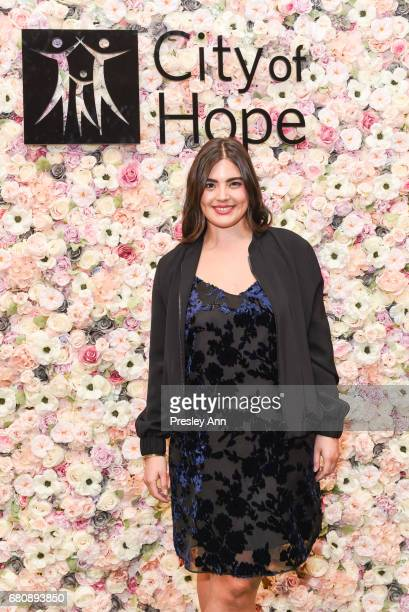 Alessandra Garcia Lorido attends Andrew Warren of Just Drew NYC Presents Special Collection at 'City of Hope' Luncheon at The Plaza Hotel on May 8...