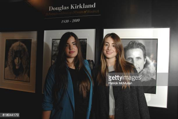 Alessandra GarciaLorido and Dominik GarciaLorido attend Woolrich John Rich Bro's Photo Exhibition with Douglas Kirkland at Bloomingdales on September...