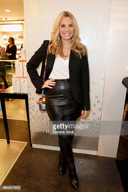 Alessandra Geissel attends the Douglas Cosmopolitan Celebrate After Prix de Beaute Event on February 26 2015 in Munich Germany