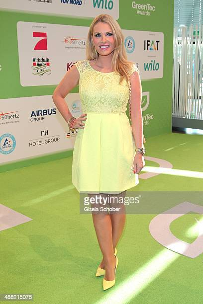 Alessandra Geissel attends the GreenTec Awards 2014 at ICM Munich on May 4 2014 in Munich Germany
