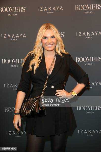 Alessandra Geissel during the grand opening of Roomers IZAKAYA on October 12 2017 in Munich Germany