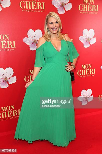 Alessandra Geissel during the Mon Cheri Barbara Tag 2016 at Postpalast on December 2 2016 in Munich Germany