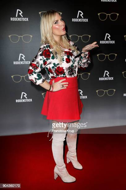 Alessandra Geissel during the Rodenstock Eyewear Show on January 12 2018 in Munich Germany