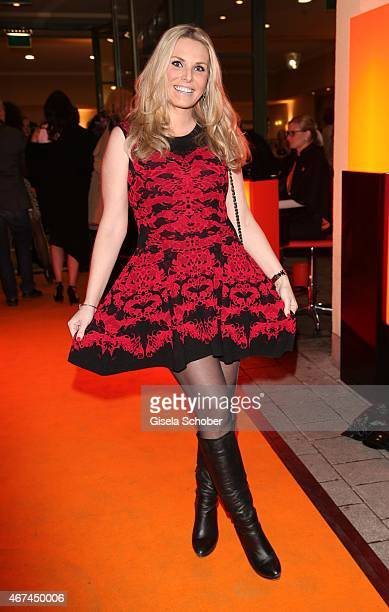 Alessandra Geissel during the SIXT fashion dinner at Nockherberg on March 24 2015 in Munich Germany