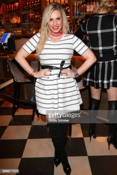 Alessandra Geissel during the 'Spring Fashion Dance' Party hosted by Joana Danciu at Tambosi on March 22 2018 in Munich Germany