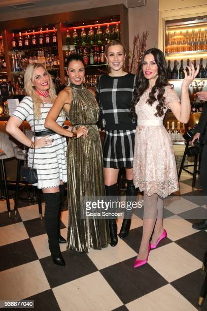 Alessandra Geissel Fashion designer Joana Danciu Verena Kerth Blogger Jeannette Graf during the 'Spring Fashion Dance' Party hosted by Joana Danciu...
